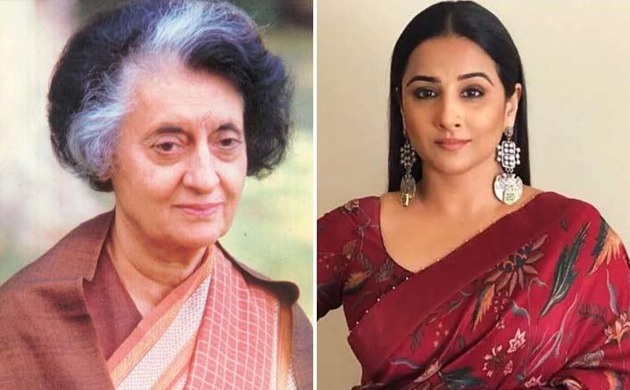 Vidya 'trying to do' web series on Indira Gandhi