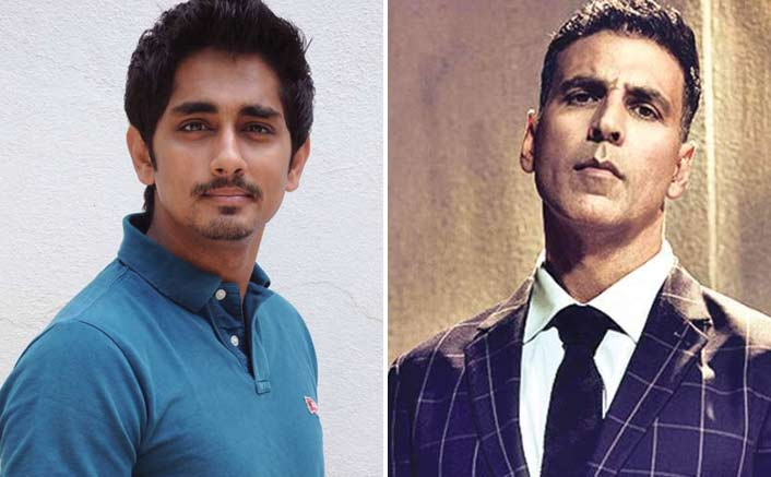 "Siddharth's Dig At Akshay Kumar ; Says ""I Have An Indian Passport"" To Interview Donald Trump"