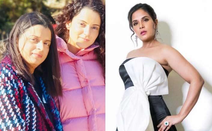 """After Hrithik Roshan, Kangana Ranaut's Sister Rangoli Hits At Richa Chadha; Calls Her """"Movie Mafia A** Lickers"""""""