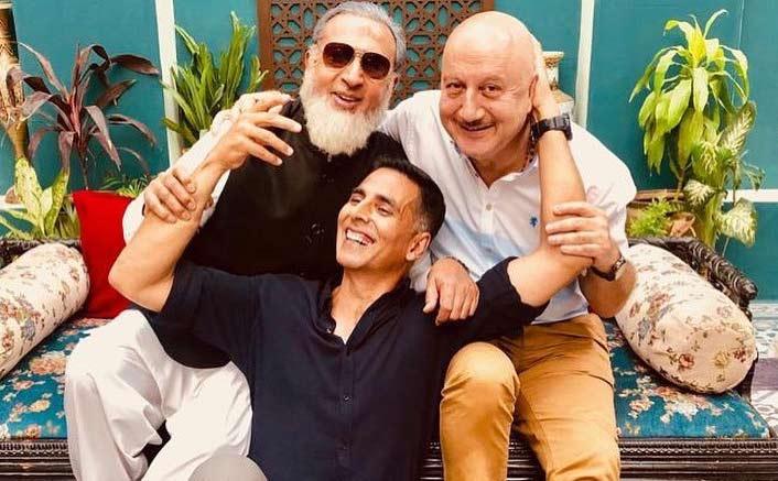 Akshay, Anupam, Gulshan have a mini reunion