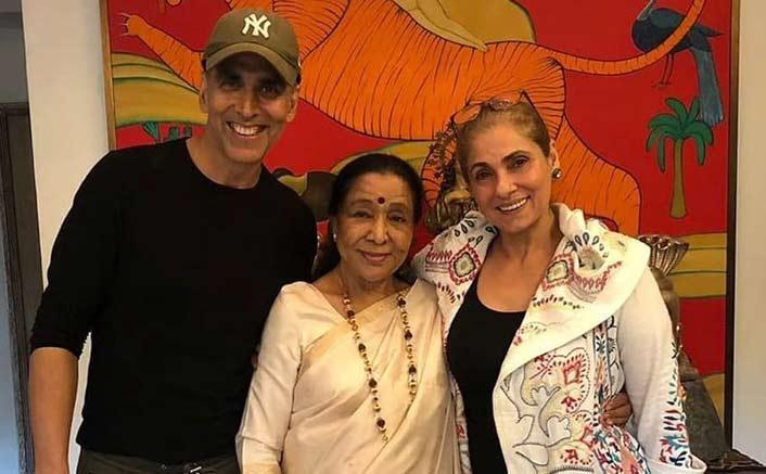 Akshay Kumar, Asha Bhosle bond over 'chai'