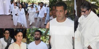 Amitabh, Salman attend Veeru Devgan's prayer meet
