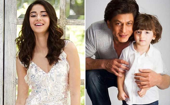 Ananya gets playful with SRK's son AbRam