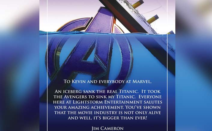Avengers: Endgame SINKS Titanic At The Box Office & James Cameron Has A Special Message For The Team!