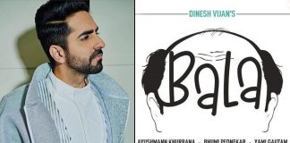 Ayushmann starts shooting for 'witty, lovable' 'Bala'