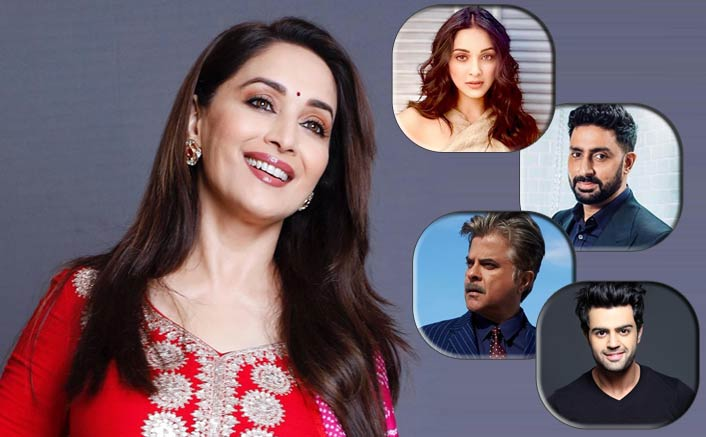 B-Town wishes 'graceful' Madhuri a happy 52nd b'day
