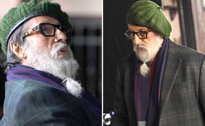 Big B gives sneak peek into his 'Chehre' look