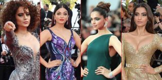 Our All Time Favourite Looks Of Deepika Padukone, Aishwarya Rai Bachchan, Sonam Kapoor & Kangana Ranaut From Cannes Film Festival Over The Years!