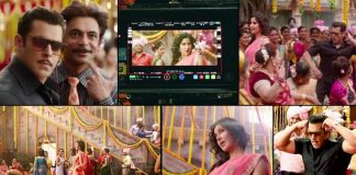 Check out the BTS of Salman Khan's Bharat wedding song 'Aithey Aa'