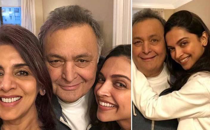 Deepika meets Rishi, Neetu in New York
