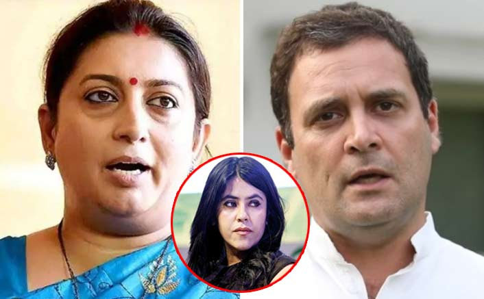 Election Results 2019: In The Smriti Irani VS Rahul Gandhi Battle - Ekta Kapoor Rejoices As The Former Leads By 11,200 Seats