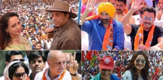 Election 2019: It's A #FamJam For Film Celebs During Campaign Trail