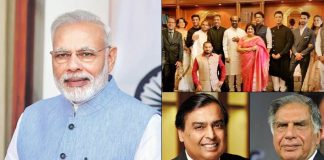 Film, business celebs at Modi's oath-taking ceremony