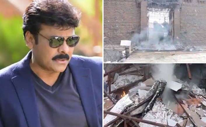 Chiranjeevi's Farmhouse On Fire, Film Set Gets Damaged