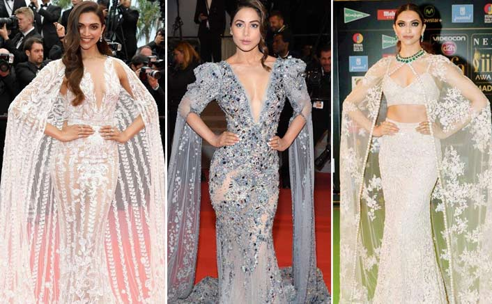Cannes 2019: Is Hina Khan's Attire Inspired From These Deepika Padukone Pieces?