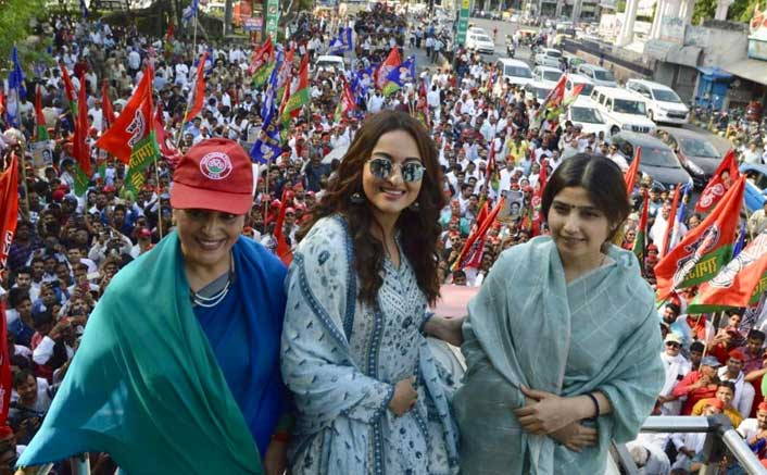 """I Wasn't At My Mother's Rally As A Celebrity"": Sonakshi Sinha"