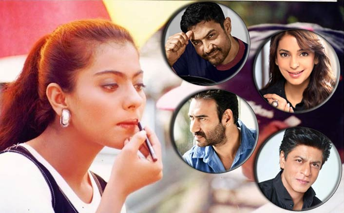 Kajol's Question For Shah Rukh Khan, Ajay Devgn & Others Has A 90s Connect