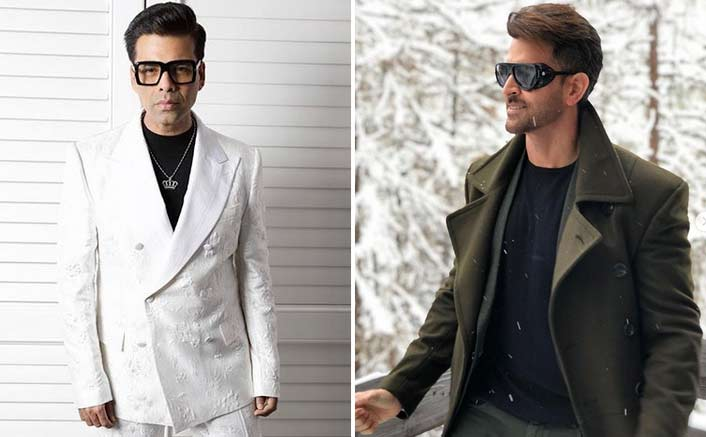 Karan Johar Is Trapped Into 'Geek God' Hrithik Roshan's Eyes!