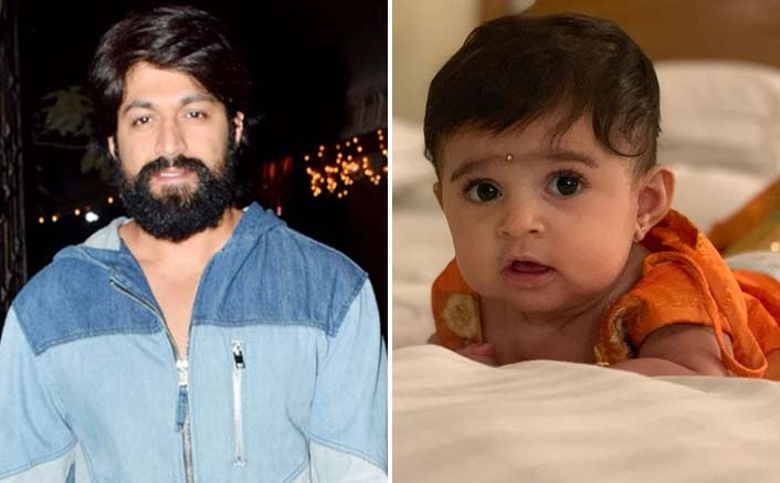 KGF Actor Yash Shares The First Pic Of His Daughter!