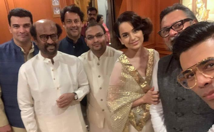 "Kangana Ranaut & Karan Johar In One Frame- ""Divided By Nepotism, United By Narendra Modi"""