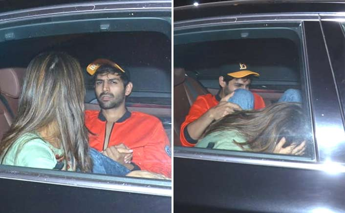 PICTURES: Sara Ali Khan & Kartik Aaryan Caught HOLDING HANDS, Love Aaj Kal Happening In Real Life?