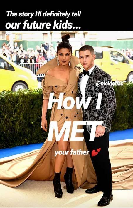Priyanka has a 'How I Met' Nick story for her kids