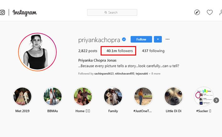 Priyanka Chopra's Instagram family grows over 40 mn