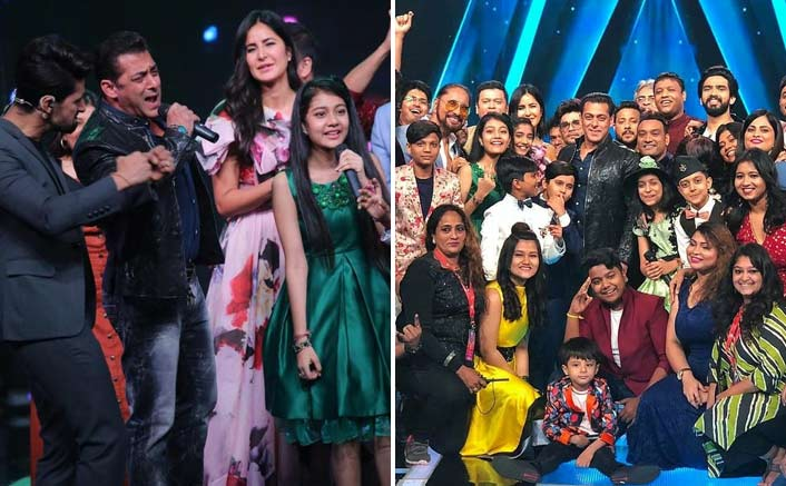 Salman Khan & Katrina Kaif Have A Blast During Bharat Promotions On Sa Re Ga Ma Pa Li'l Champs' Sets - See PICS!