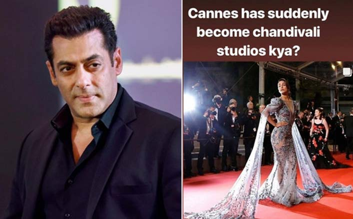 "Salman Khan REACTS To VIRAL ""Chandivali Studios"" Comment On Hina Khan's Cannes 2019 Debut"