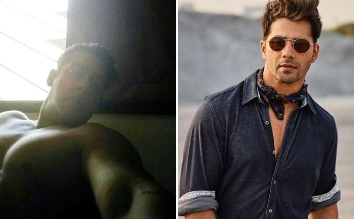 Salman Khan Shares A Shirtless Selfie & Varun Dhawan Reacts In A Epic Way!