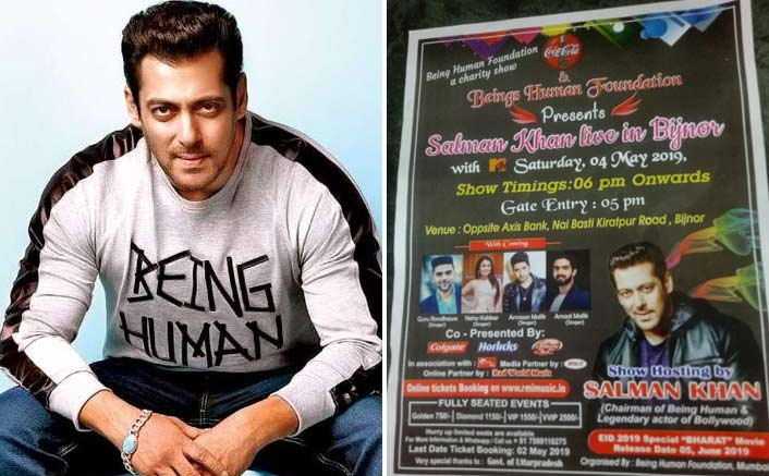 Salman Khan Takes To Twitter & Busts The Rumor Of Doing A Fraudulent Show In Bijnor
