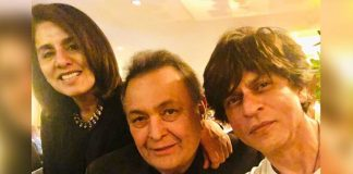 SRK meets Rishi in NY, Neetu admires his 'genuine' love