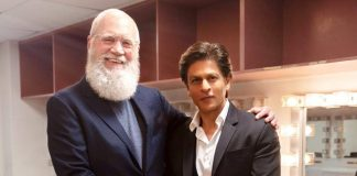 SRK thrilled, honoured to share story with Letterman