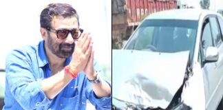 Sunny Deol Meets Through An Accident With 4 More Vehicles Ramming Into Each Other!
