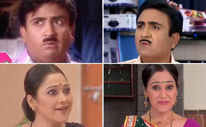 Taarak Mehta Ka Ooltah Chashmah: From Dayaben To Jethalal Gada - Characters - Then & Now!