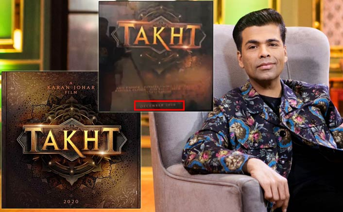 Takht To Release In December 2020? Karan Johar Unknowingly Gives All Out