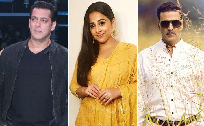 The House Gets Full As Salman Khan & Vidya Balan Visits The Set Of Akshay Kumar Starrer