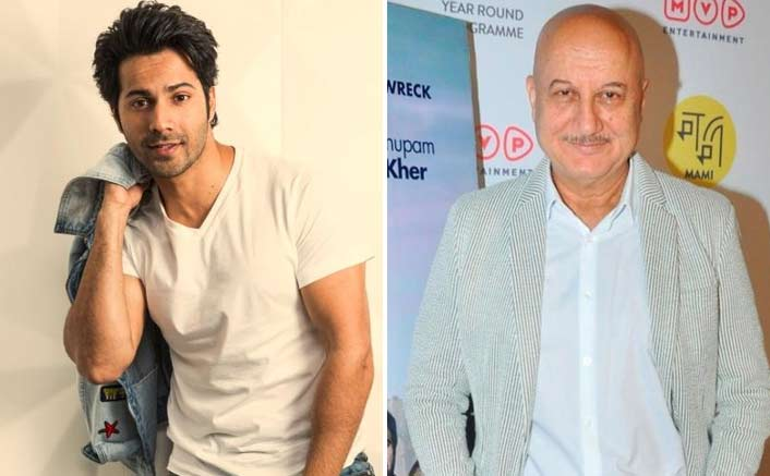 Anupam Kher Is All Praises For The Box Office's Favourite Kid - Varun Dhawan