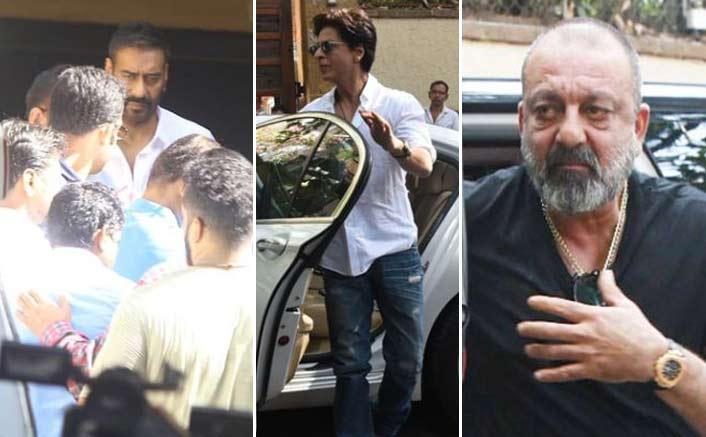 Veeru Devgan Last Rites: Shah Rukh Khan, Sanjay Dutt & Other B-Town Celebs Arrive To Meet Ajay Devgn & Family