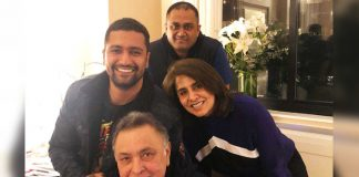 Vicky Kaushal meets Rishi, Neetu in US