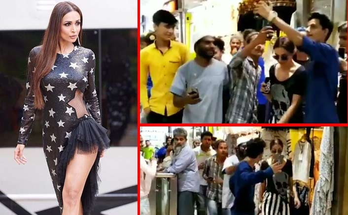 VIRAL VIDEO: Malaika Arora Gets Mobbed By The Selfie Hunters