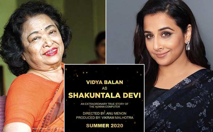 Vidya Balan shares details on the Shakuntala Devi biopic; here's what she REVEALS
