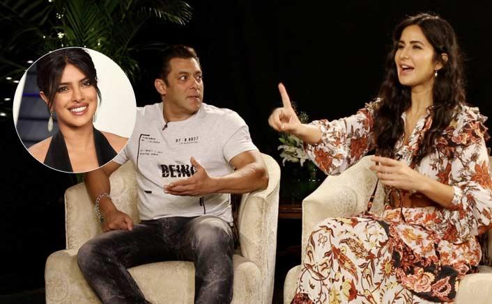 "VIRAL VIDEO: Katrina Kaif SNAPS At Salman Khan For ""Thank You Priyanka"" Statement!"
