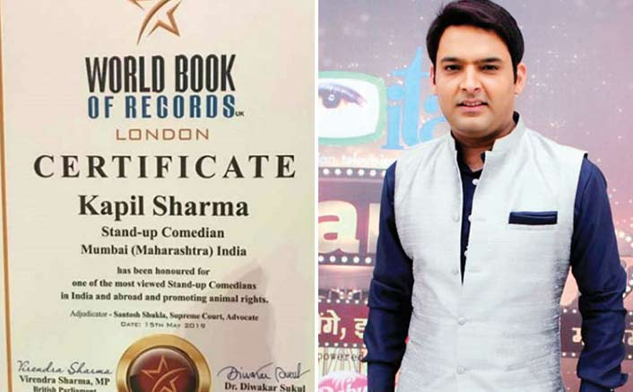 WOW! Kapil Sharma Stylishly Enters The World Book Of Records, London