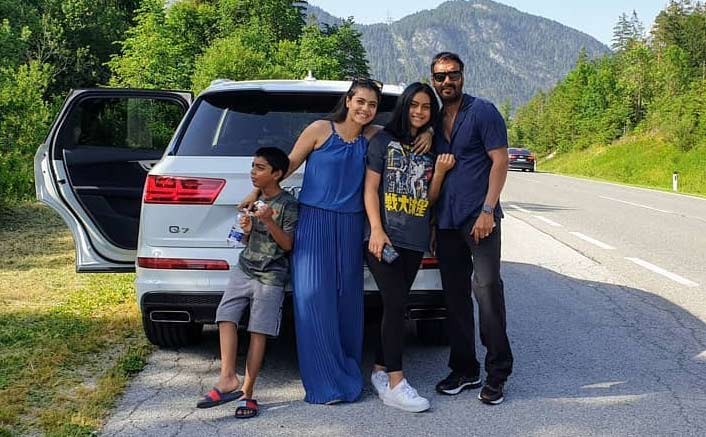 A Picture Worth Million Smiles- Kajol And Ajay Devgan Go On A Road Trip Together!