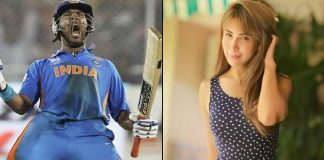 A 'standing ovation' from Kim Sharma for Yuvraj Singh