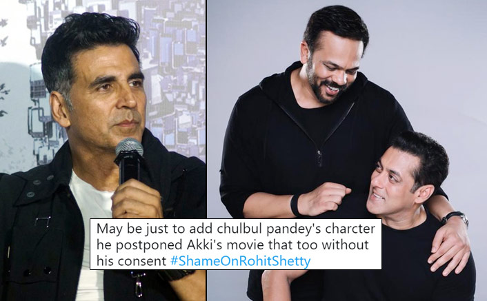 Akshay Kumar Fans Trend #ShameOnRohitShetty As Release Date Postpones For Salman Khan's Inshallah