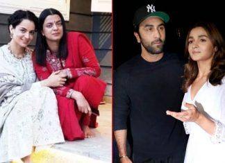 Alia Bhatt & Ranbir Kapoor Finally Speaks About Kangana Ranaut's Sister, Rangoli Chandel's Allegations!