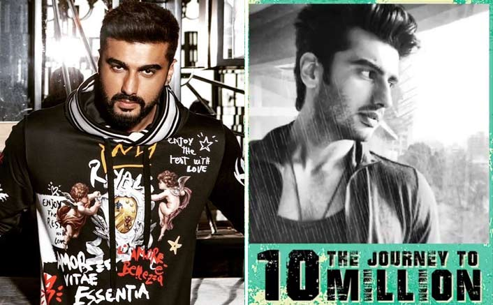 Arjun Kapoor has 10 million fans on Instagram