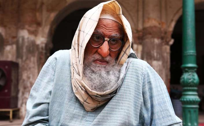 Big B aces old man avatar in 'Gulabo Sitabo' first look